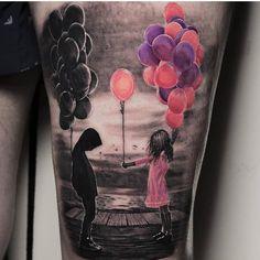 Tattoo by - Tattoo-Ideen - tattoos Pretty Tattoos, Love Tattoos, Beautiful Tattoos, New Tattoos, Body Art Tattoos, Small Tattoos, Tattoos For Guys, Tattoos For Women, Amazing Tattoos