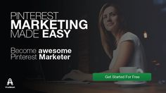 Get better results spending less time #marketing on #Pinterest.