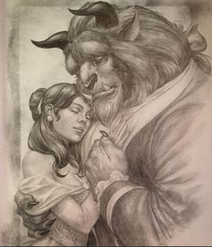Belle and The Beast by Mike Choi *