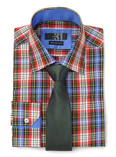 If your corporate style guide requires a tie, try dressing it down on Fridays with a patterned shirt. Business Casual Men, Men Casual, Men Home Decor, Corporate Style, Check Shirt, Style Guides, Dressing, Shirt Dress, Tie