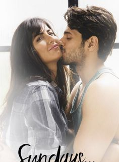 Katrina Kaif and Sidharth's Lovely Kissing Pictures
