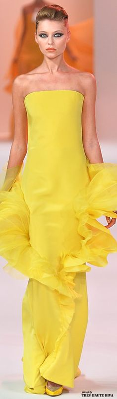 Stephane Rolland Spring 2014 Couture Walking in Sunshine