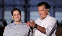 Mitt Romney Robotically Repeats Marco Rubio's Robotic Talking Points to Attack Donald Trump