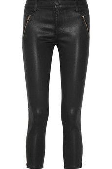 J Brand Carey coated skinny jeans | NET-A-PORTER
