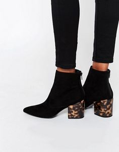 ASOS | ASOS REACH Pointed Ankle Boots at ASOS
