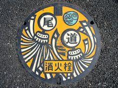 Japanese Man Holes