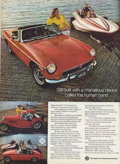 1973 MGB - my first vehicle