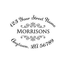 Self inking custom Personalized Return address by mycustomstamps