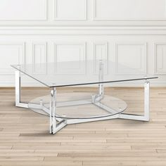 Theon Glass Coffee Table