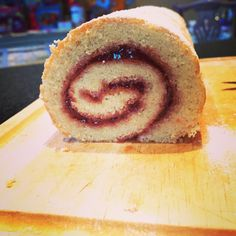 Very pleased with the roll on my Swiss Roll #yum #homebaking #swissroll #tea