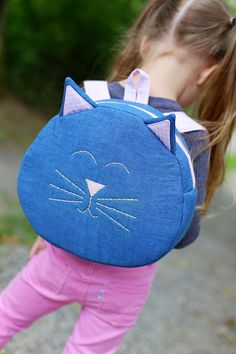 Cat Backpack Free Pattern - Sew Much Ado
