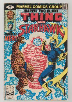 Marvel Two-In-One; Vol 1, 61, Bronze Age Comic Book. VG. March 1980. Marvel Comics #ayesha #guardiansofthegalaxy #comicsforsale