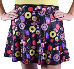 Candyland SparkleTech | athletic skirt | SparkleSkirts | SparkleSkirts