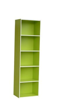 H2O Storage Organizer 5Tiered Open Shelf Bookcase 58Inch Green ** You can find out more details at the link of the image.Note:It is affiliate link to Amazon.