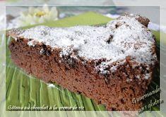 Gourmande sans gluten: Gâteau au chocolat à la crème de riz.... irrésistible !!!! et sans gluten