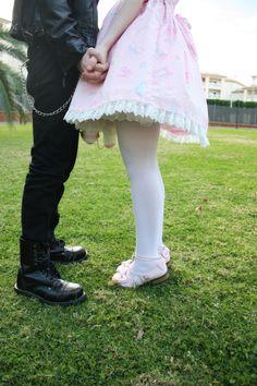 Metal x Lolita couples