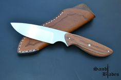 N690 Satin finish Hollow grind Tapered tang Tulip wood scales Stainless steel pinning, And mosaic pin  OAL 195mm Blade 100mm Citting edge 80mm Weight 86g  For inquiries  sandtcustomblades@gmail.com  Follow us on Facebook  @SandtCustomBlades