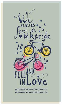 Two Wheels - Rosie Harbottle   soooo cute