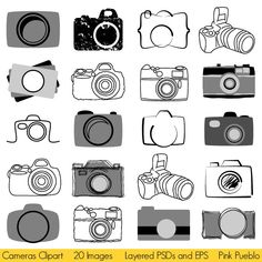 Photography Camera Logo Clip Art Ideas For 2019 Photography Logo Design, Photography Camera, Photography Business, Amazing Photography, Art Photography, Vintage Photography, Camera Logo, Camera Icon, Logo Foto