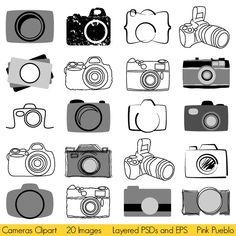 Photography Camera Logo Clip Art Ideas For 2019 Photography Logo Design, Photography Camera, Photography Business, Art Photography, Vintage Photography, Camera Logo, Camera Icon, Kamera Tattoos, Watermark Ideas