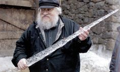 George with the white walkers icicle sword...
