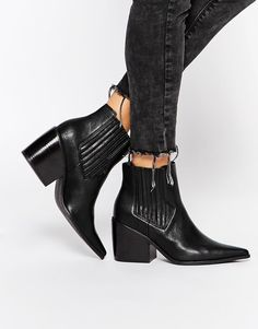 ASOS | ASOS ELSA Pointed Ankle Boots at ASOS