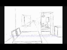 Dessiner La Perspective 1 Le Point De Fuite Leçon de dessin cour d ...
