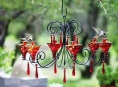 There are a lot of different kinds of cool bird feeders that may be bought these days. Moreover wild bird food is really cheap and will entice a number of birds. There are various species of birds that can you feed in this cute bird feeder ideas. Diy Bird Feeder, Humming Bird Feeders, Chicken Feeders, Chicken Waterer, Spring Flower Arrangements, Ceiling Light Design, How To Attract Hummingbirds, Diy Chandelier, Luxury Vinyl Plank