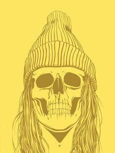 Skull Girls (pt.1) by Gerrel Saunders, via Behance