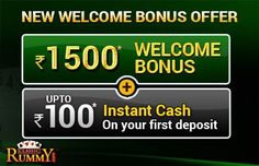 Get Rs. 1500 Welcome Bonus and upto Rs. 100 Instant Cash on your first deposit at  https://www.classicrummy.com/13-cards-rummy-cash-bonus?link_name=CR-12