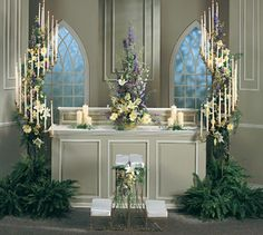 Or just a floral arrangement, with or without unity candle., 402x360 in 121.7KB
