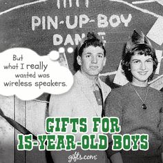 #Teen boys can be some of the hardest to shop for. See our guide for birthday gifts for the 15 year old guys: http://blog.gifts.com/whos-it-for/gifts-for-teens-2/gifts-for-15-year-old-boys