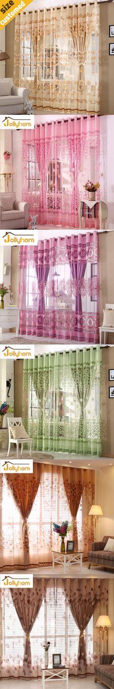 DJ Korean princess Luxury pink/white custom curtains curtain ...