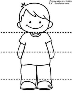 Head Shoulders Knees and Toes - Boy Senses Activities, Activities For Kids, Body Preschool, Learn Portuguese, Classroom Crafts, Preschool Worksheets, Super Powers, Small Groups, Kindergarten