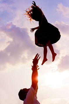 """Higher, Daddy! Higher!"" by mjmatt, via Flickr"