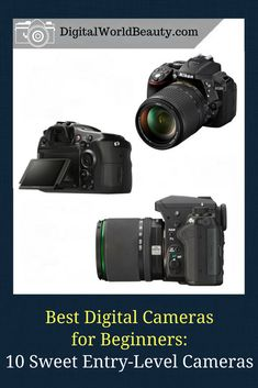 [Camera Buying Guide] Best Digital Cameras for Beginners 2018: 10 Best Entry-Level Cameras to Buy. #cameras #digitalcameras #digitalcamerasforbeginners #entrylevelcameras #digitalcameras2018 #entrylevelcameras2018 #amateurphotographer #photo #POTD #canadian #bestcameras #bestof #top10 #onlineshopping #camerashopping #camerabuyingguide #pentax #nikon #canon