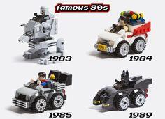 LEGO Ideas - Famous 80s Lego Bucket, Lego Batmobile, Micro Lego, Lego Worlds, Lego Moc, Cool Lego, Lego Brick, Lego Ideas, Lego Creations