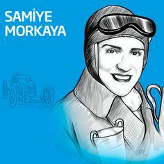 Pistlerde tozu dumana kattığına eminiz! #SamiyeMorkaya #kadınlargünü #womensday