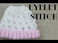 """Eyelet Stitch (on a loom)- so you can make """"button holes"""" in your knitting! :D WHERE HAS THIS BEEN ALL MY LIFE?? :D"""