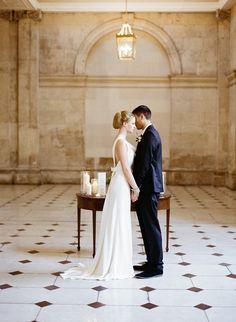 Chic Dublin City Wedding Inspiration, dublin city hall