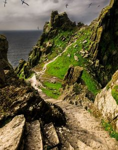 Monastic Ruins, Skellig Michael, Co. Kerry by Marco Stolle