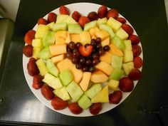 Healthy Heart for Valentine's Day #appetizer #snackattack