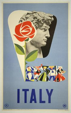 Vintage Italian Posters ~ #illustrator #Italian #posters ~ #Italy