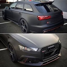 Matte black RS6 ABT