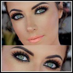 Dicas de maquiagem para realçar olhos claros