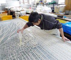 長田製紙所 越前和紙の伝統を継承しつつ、新たな可能性を追求, Herstellung von Japanpapier, Nagata Papierfabrik Echizen