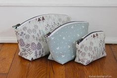 Sew A Set of Pouches