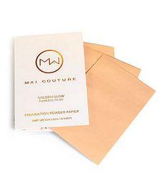 Foundation Powdered Papiers- Available at Dillards.com #Dillards