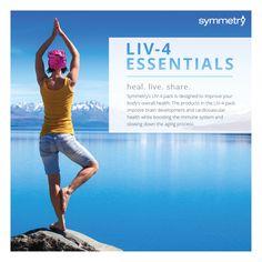 LIV-4 Essentials Yoga Poster