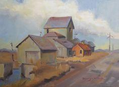 $200 Fine art By Brandy Cattoor. Farm of Houses #fine art #houses #landscape @brandy